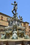 Neptune Fountain  Piazza Del Nettuno  Bologna  Emilia-Romagna  Italy  Europe
