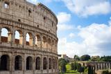 Colosseum (Flavian Amphitheatre)  UNESCO World Heritage Site  Rome  Lazio  Italy  Europe