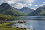 Great Gable  and Yewbarrow  Lake Wastwater  Wasdale  Lake District National Park