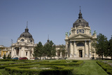 Szechenhyi Baths with its Main Dome and Northern Dome  Budapest  Hungary  Europe