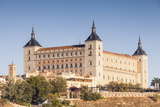 The Alcazar of Toledo  Spain  Europe