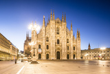 The Duomo Di Milano (Milan Cathedral)  Milan  Lombardy  Italy  Europe