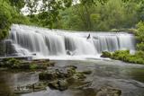 Monsal Weir in Monsal Head Valley  Peak District National Park  Derbyshire  England  United Kingdom