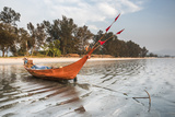 Fishing Boat on Maungmagan Beach  Dawei  Tanintharyi Region  Myanmar (Burma)  Asia