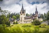 Peles Castle  a Palace Near Sinaia  Transylvania  Romania  Europe