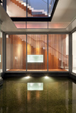 Lit Internal Water Feature in Residential House on Sentosa Island  Singapore  South East Asia