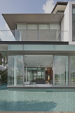 View into Residential House on Sentosa Island  Singapore  South East Asia