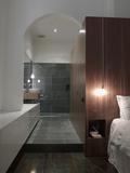 View from Bedroom to En Suite Bathroom