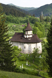 Romania  Bucovina  Sucevita the Church and Cemetery Attached to Sucevita Monastery