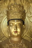 North Korea  Kaesong a Gold Buddha at Ryongtong Temple Founded by Chontae Buddhist Sect in 1027