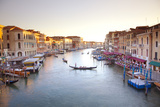 Italy  Veneto  Venice View from the Ponte Di Rialto over the Grand Canal Unesco