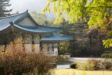 North Korea  Myohyang Pohyon Temple  Located on the Slopes of the Myohyang Mountains