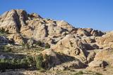 Jordan  Petra the Attractive Sandstone Rock Formations