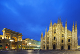 Europe  Italy  Lombardy  Milan  Piazza Del Duomo