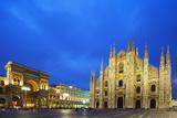 Europe  Italy  Lombardy  Milan  Piazza Del Duomo