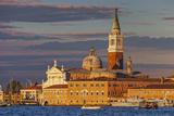 San Giorgio Maggiore at Sunset Viewed from Giudecca  Venice  Veneto  Italy