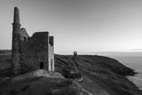 Old Tin Mine Workings  Botallack  Pendeen Cornwall  England