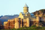 Eurasia  Caucasus Region  Georgia  Tbilisi  St Nicholas Church on Top of Narikala Fortress