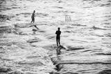 Tidal Outdoor Swimming Pool  Bude  Cornwall  England