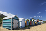The Colourful Brighton Bathing Boxes Located on Middle Brighton Beach  Brighton  Melbourne