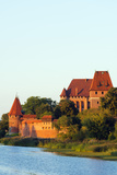 Europe  Poland  Pomerania  Medieval Malbork Castle  Marienburg Fortress of Mary  UNESCO Site