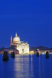 Europe  Italy  Veneto  Venice  Church across Basino Di San Venice Lagoon