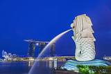 The Marina Bay Sands Hotel and Shopping Centre and the Singapore Art and Science Museum  Singapore