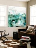 Mint Bubbles I Toile Murale Géante par PI Studio
