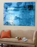 Bleu Toile Murale Géante par PI Studio