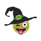 Emoji One Eye Witch