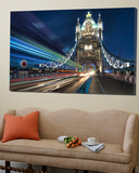 Tower Bridge traffic Toile Murale Géante par Nick Jackson