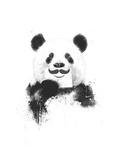 Funny Panda Reproduction d'art par Balazs Solti