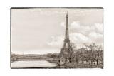Eiffel Tower  Seine and Pont Rouelle
