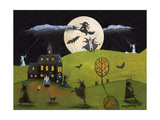 White Witch Halloween Dance Cheryl Bartley