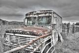 Dairy Truck BW