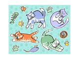 Fun Kitties Pawprints