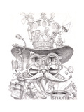Steampunk Cat 2 pencil