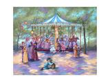 Blue Carousel
