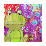 Whimsical Frog
