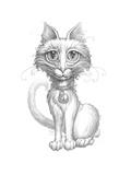 Scruffy Cat_Pencil