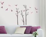 Birds in Birches