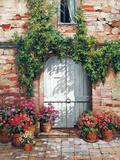 Wooden Doorway  Siena