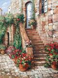 Stone Stairway  Perugia