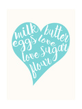 Love  Sugar  Milk Eggs