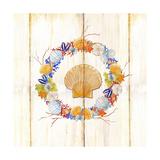 Coastal Wreath and Shell 4