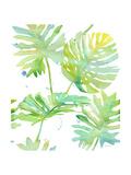 Watercolour Tropical Pattern 1