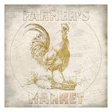 Golden Farmers Market Reproduction d'art par Kimberly Allen