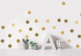 Golden dots / Pois dorés