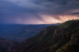 A Lighting Storm on the Rim of the Grand Canyon