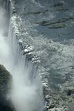 Aerial View of Victoria Falls  Zambia